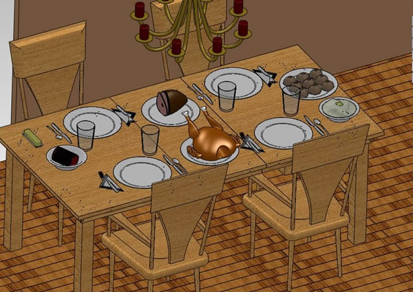 Happy Thanksgiving from the SOLIDWORKS Education & Research Team