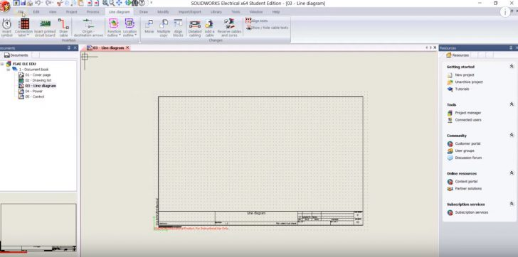 SOLIDWORKS Electrical Formula SAE Tutorial: Creating a Project