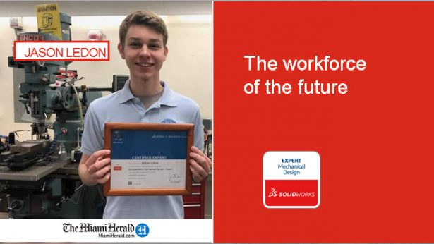 Jason Ledon, the workforce of the future.