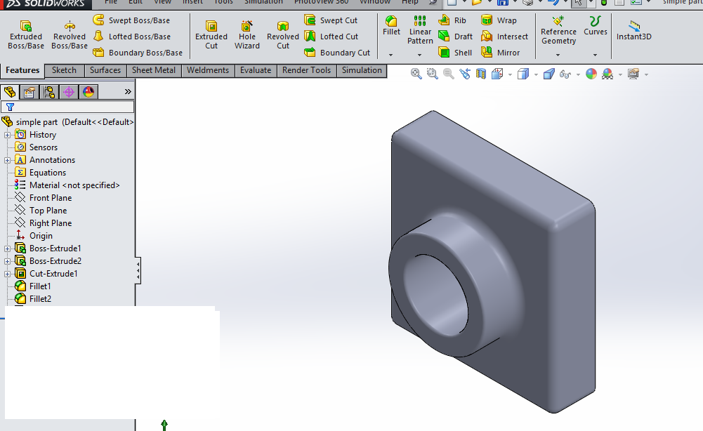 solidworks part