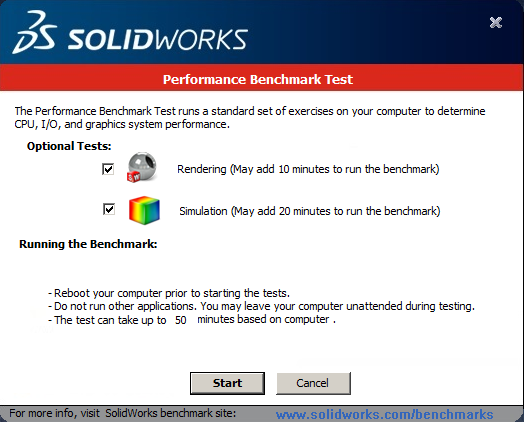 SOLIDWORKS Simulation Performance Benchmark Testing