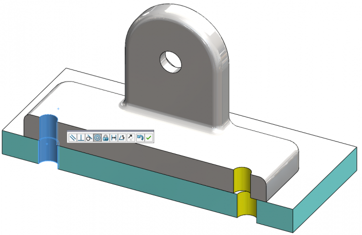 Misaligned Concentric Mates in SOLIDWORKS 2018