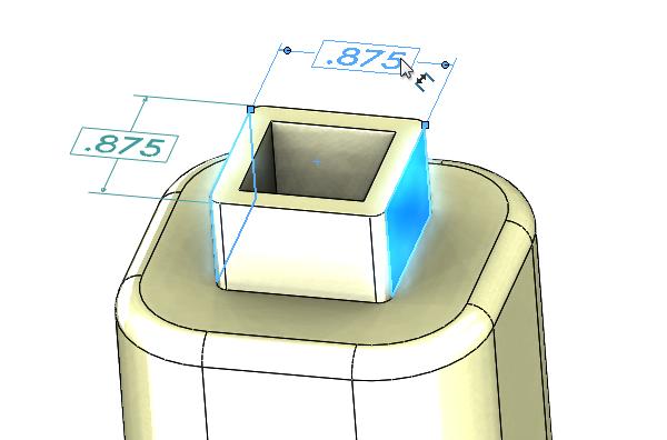 DimXpert Basic Dim on model