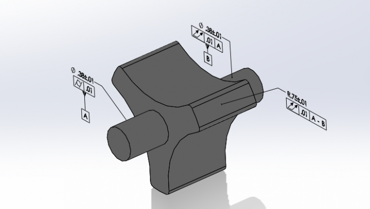 Using Compound Datums in SOLIDWORKS MBD