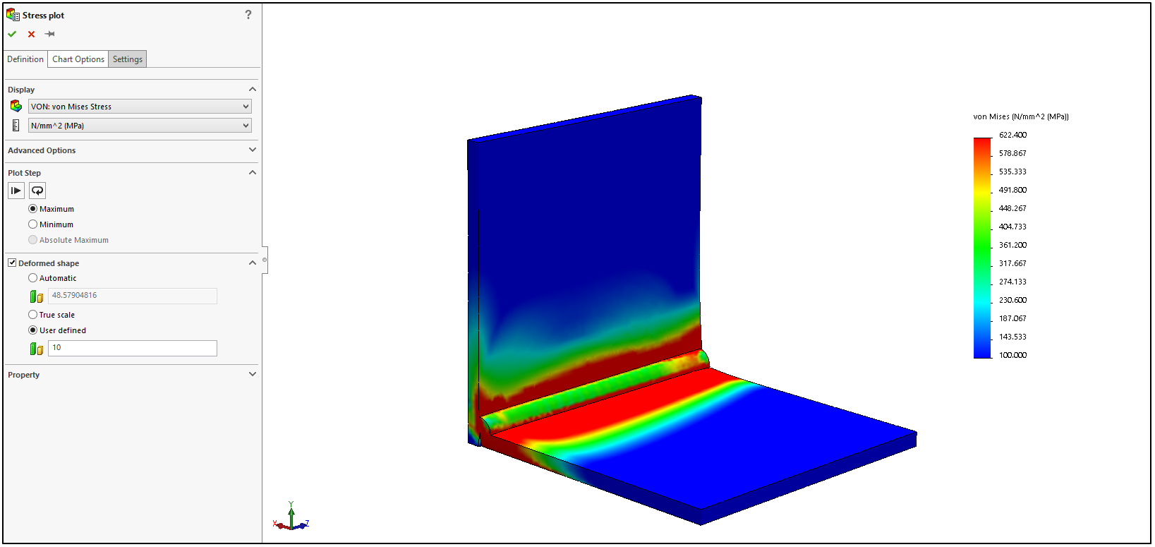 How to estimate weld distortion using solidworks simulation