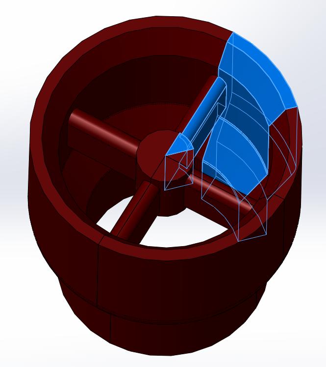 The fastest way to split symmetrical parts