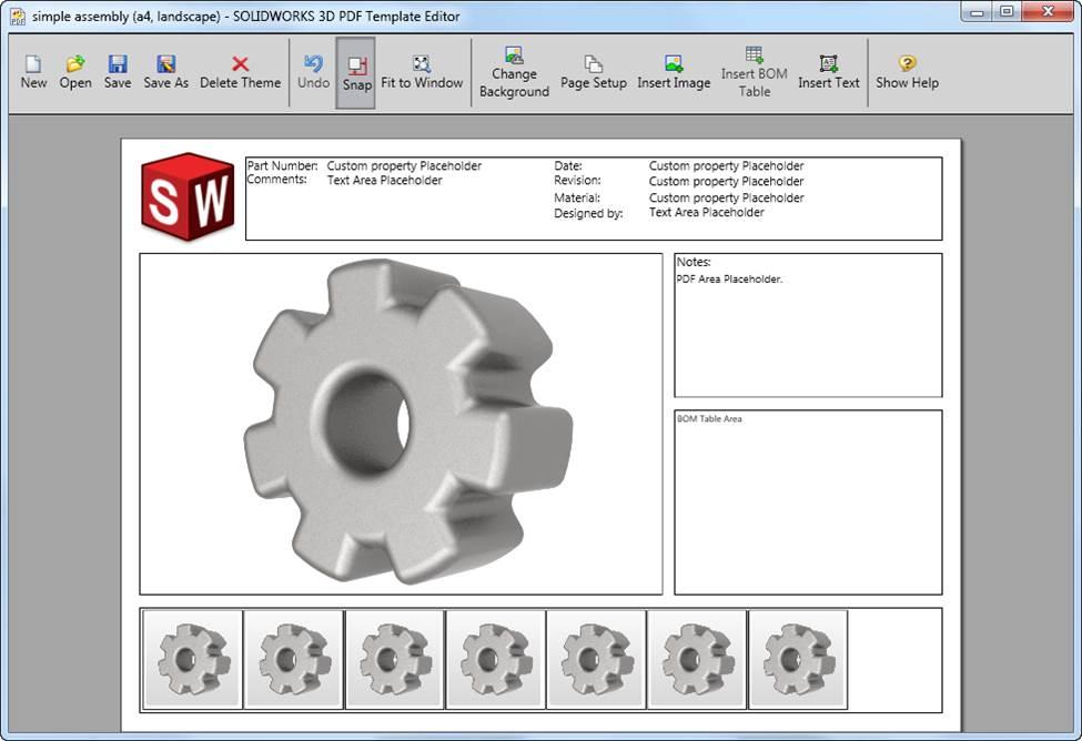 creating custom 3d pdf templates in solidworks mbd mysolidworks