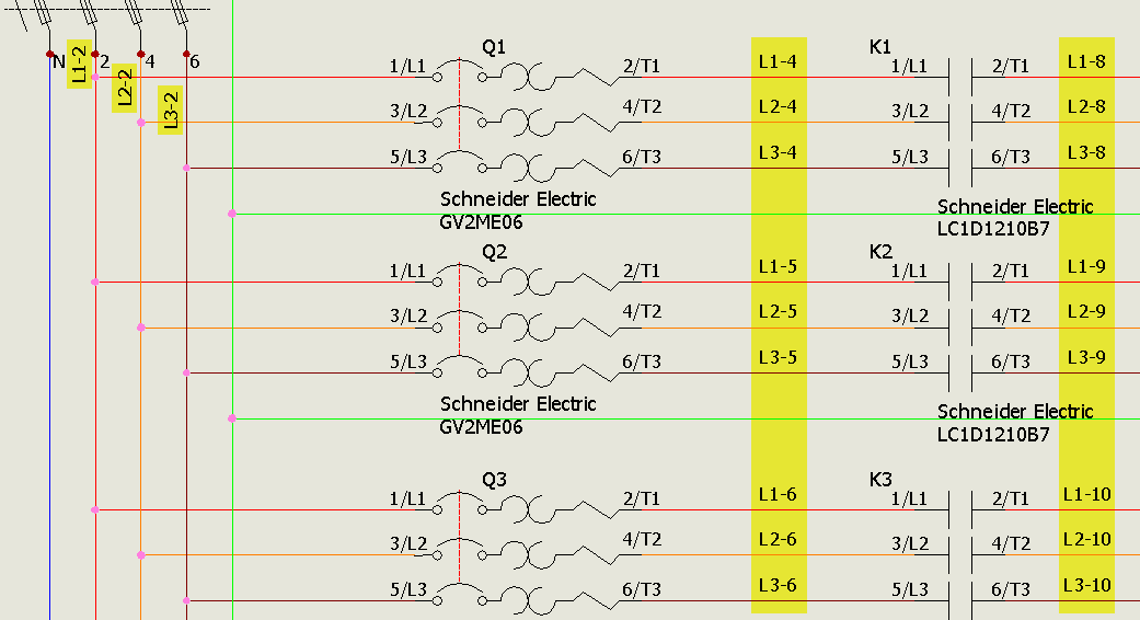 Simplifying Wire Diagrams in Electrical Schematics