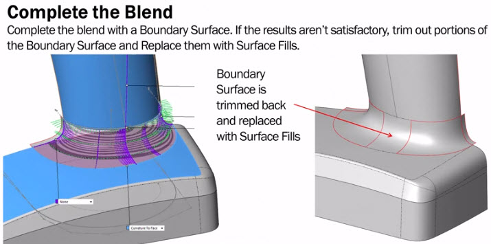 Surfaces & Splines | Blend, Not Fillet