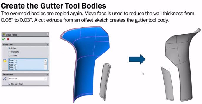 Surfaces & Splines | Overmold Modeling