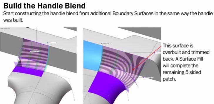 Surfaces & Splines | Handle Modeling II