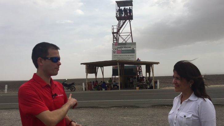 SOLIDWORKS Simulation in the Real World: Onsite in Peru at the Nazca Lines