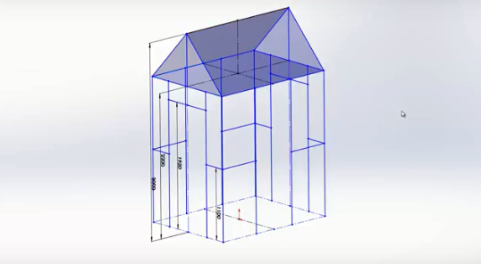 SOLIDWORKS 2018: 3D Sketch Mirroring