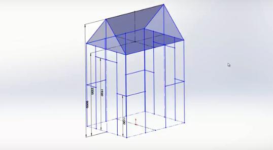 SOLIDWORKS 2018: 3D Sketch Mirroring