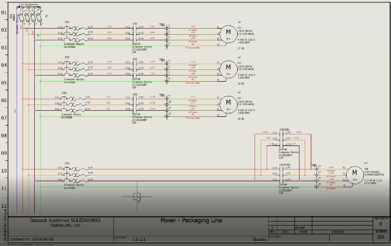 Wiring Diagram With Solidworks : Solidworks electrical professional vs solidworks routing