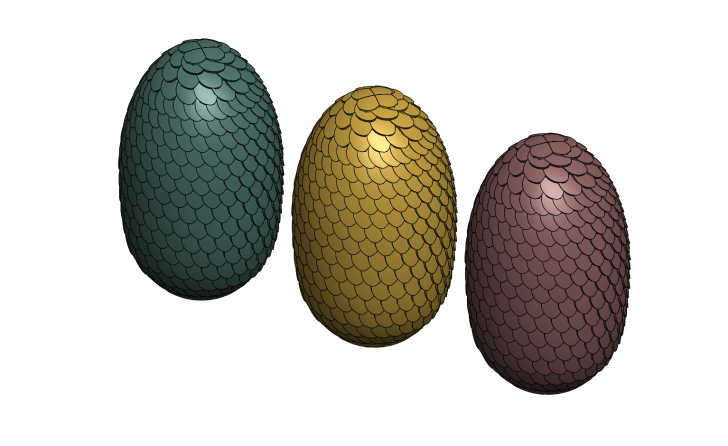 SOLIDWORKS Part Reviewer: Dragon Egg