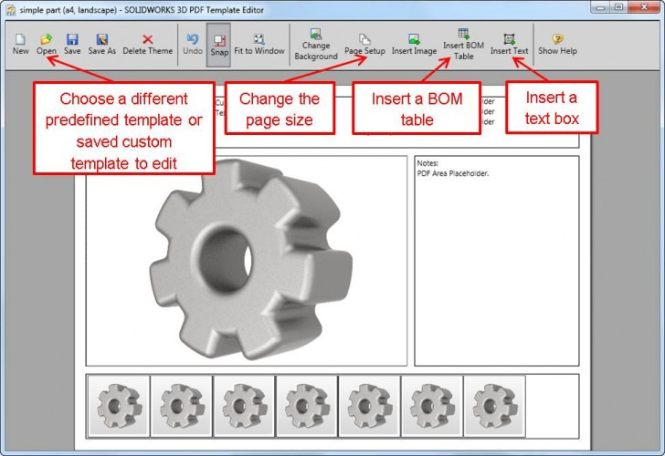 Creating Custom 3D PDF Templates in SOLIDWORKS MBD