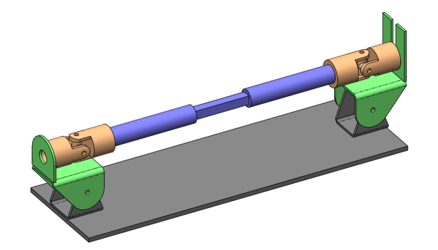 Shaky Breaky Part: Analyzing a U-Joint Driveshaft with SOLIDWORKS Motion