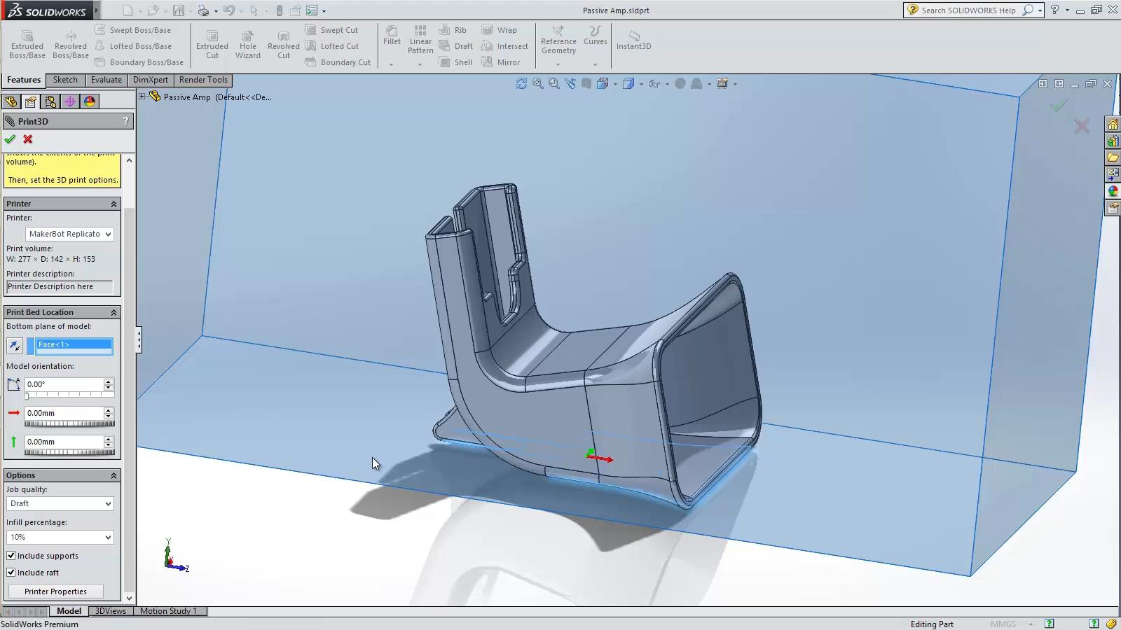 SOLIDWORKS 2015 Sneak Peek: 3D Printing Support