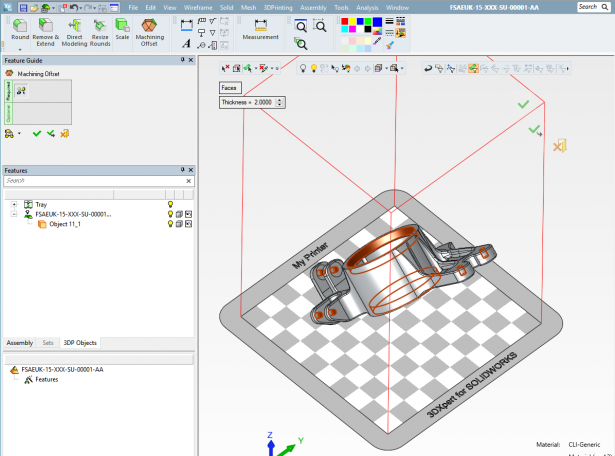 3DXpert for SOLIDWORKS: Additive Manufacturing