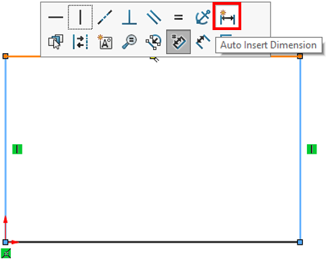 The fastest way to add Smart Dimensions in SOLIDWORKS