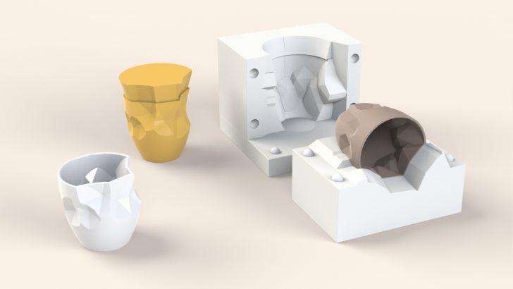 4 Part Plaster Mold Tutorial