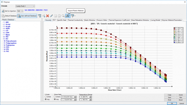 SOLIDWORKS Plastics Material Database Updates Now Available on 3D CONTENTCENTRAL