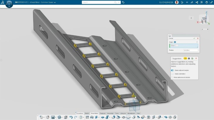 What's New in 3D Sheet Metal Creator