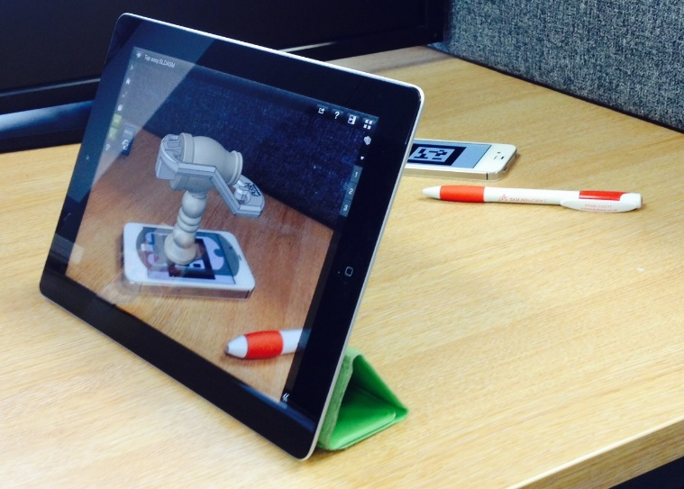 Augmented reality in eDrawings App image5