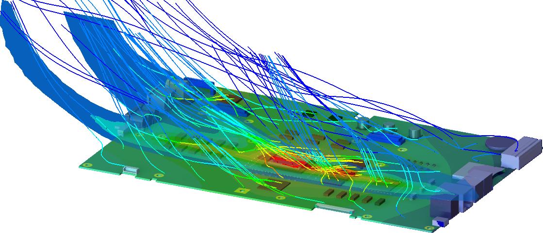 Circuit Board Thermal Flow