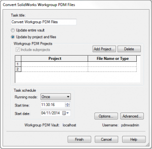 Convert_SolidWorks_Workgroup_PDM files