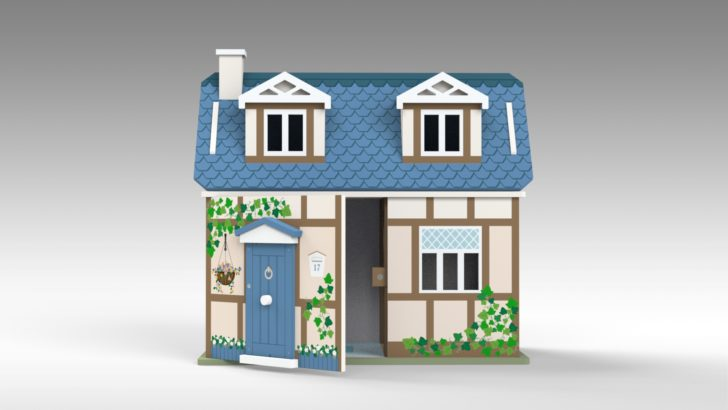 Cottage Dolls House Part 2 – Tutorial