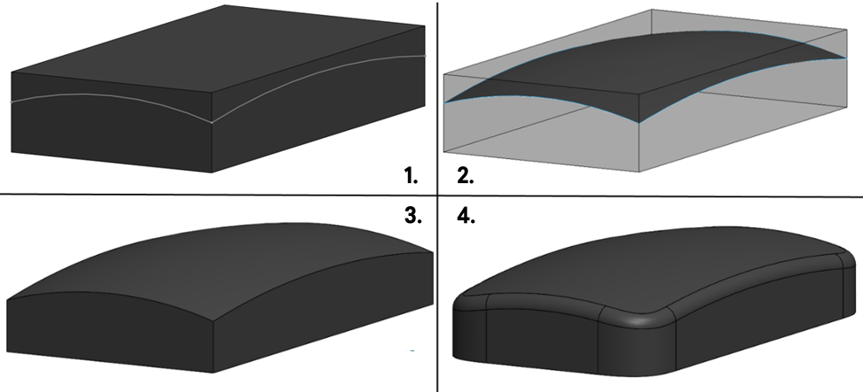 Creating the model in SOLIDWORKS