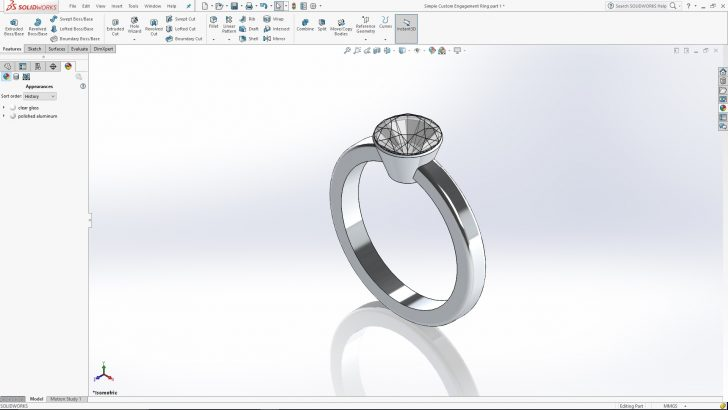 Creating a Custom Engagement Ring- Part 1