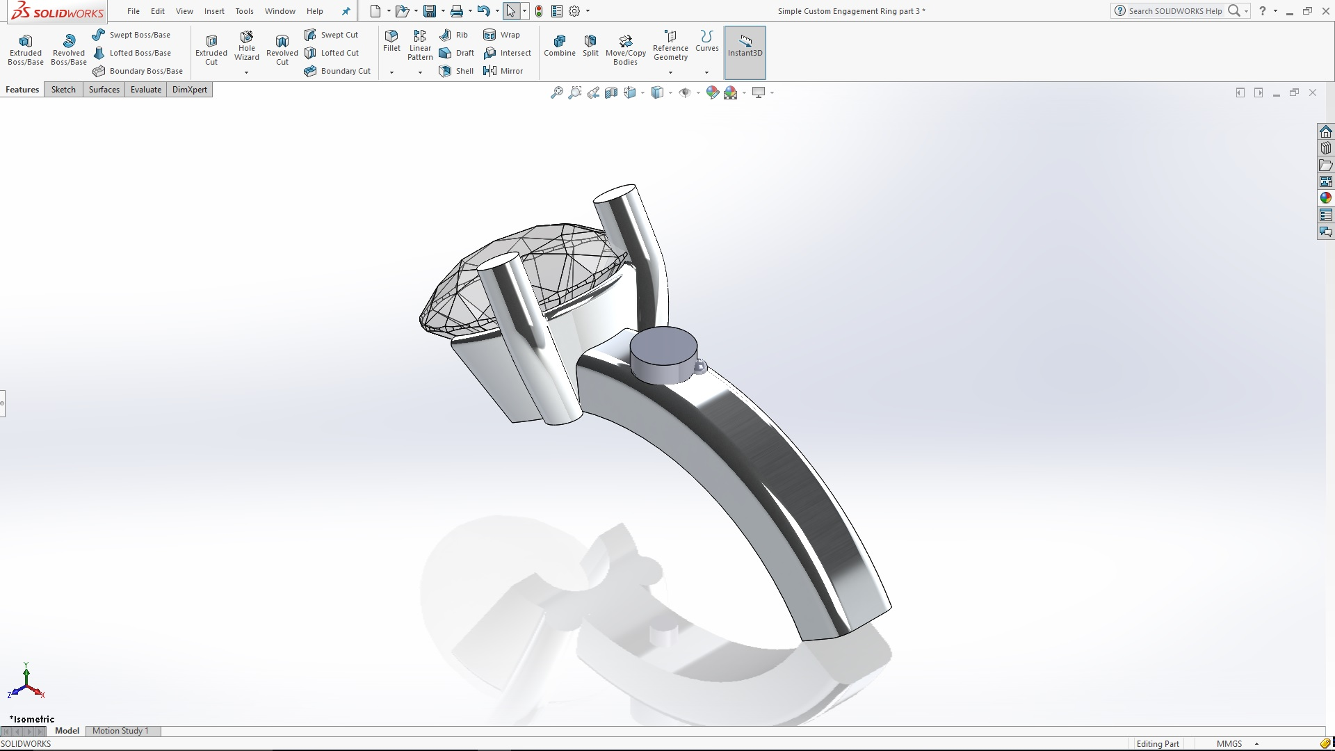 Creating a custom engagement ring part 3 ccuart Images