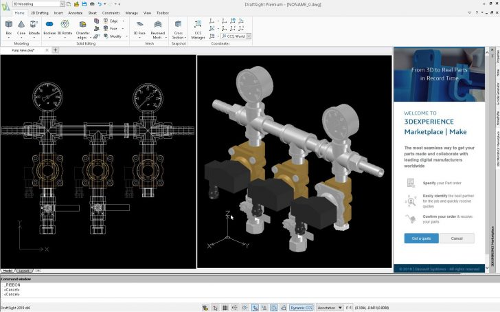 DraftSight 2019 – new, better … and not free to use anymore 2D CAD – but it's still worth it!