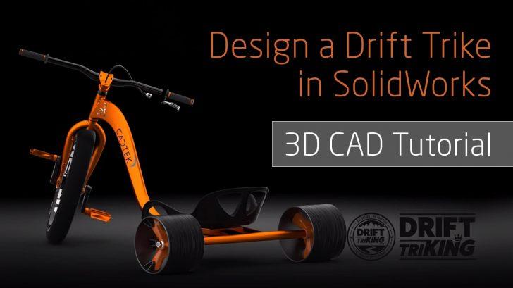 SOLIDWORKS Drift Trike – Frame Design
