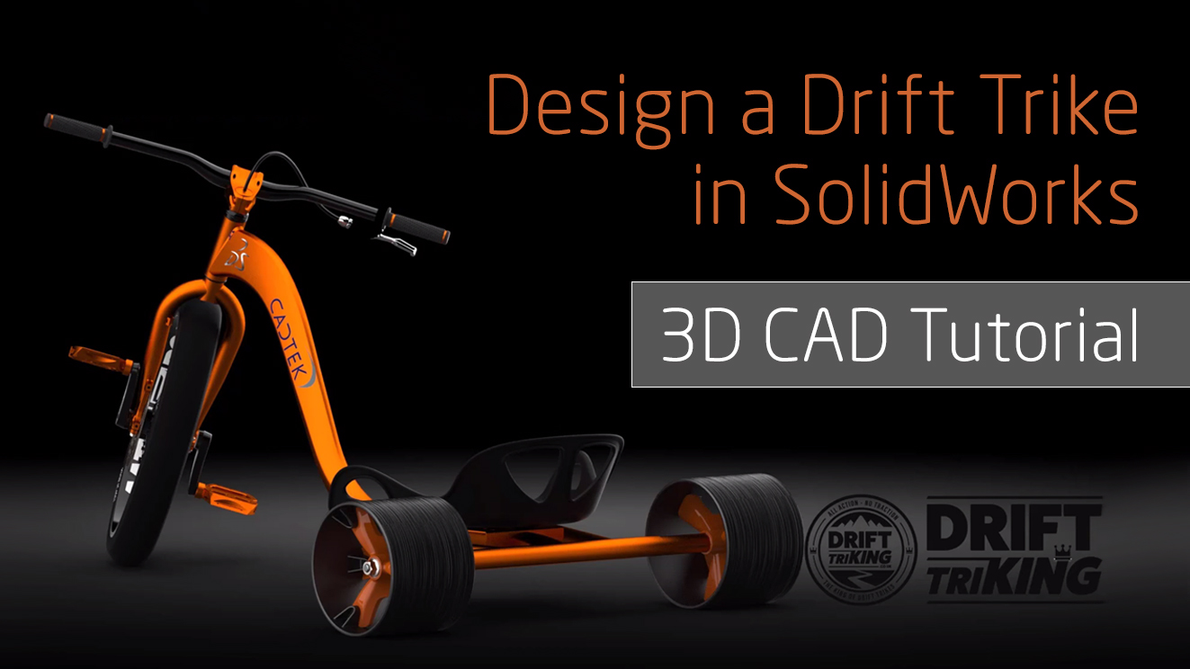 Design Amp Build Your Own Trike Frame Design In Solidworks