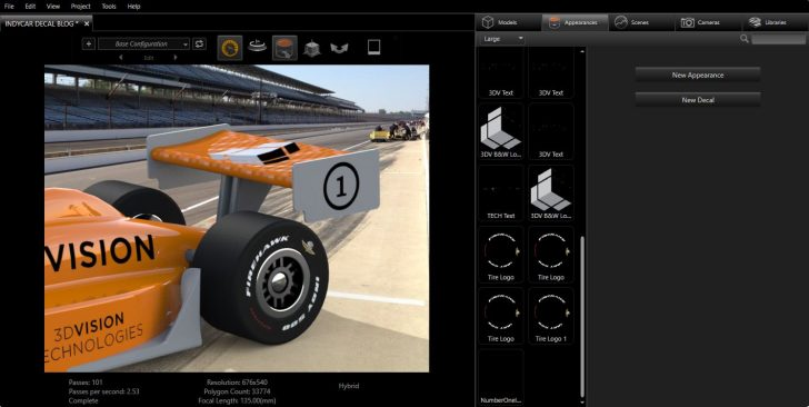 Decals, Decals, Decals! – How to add decals with SOLIDWORKS Visualize