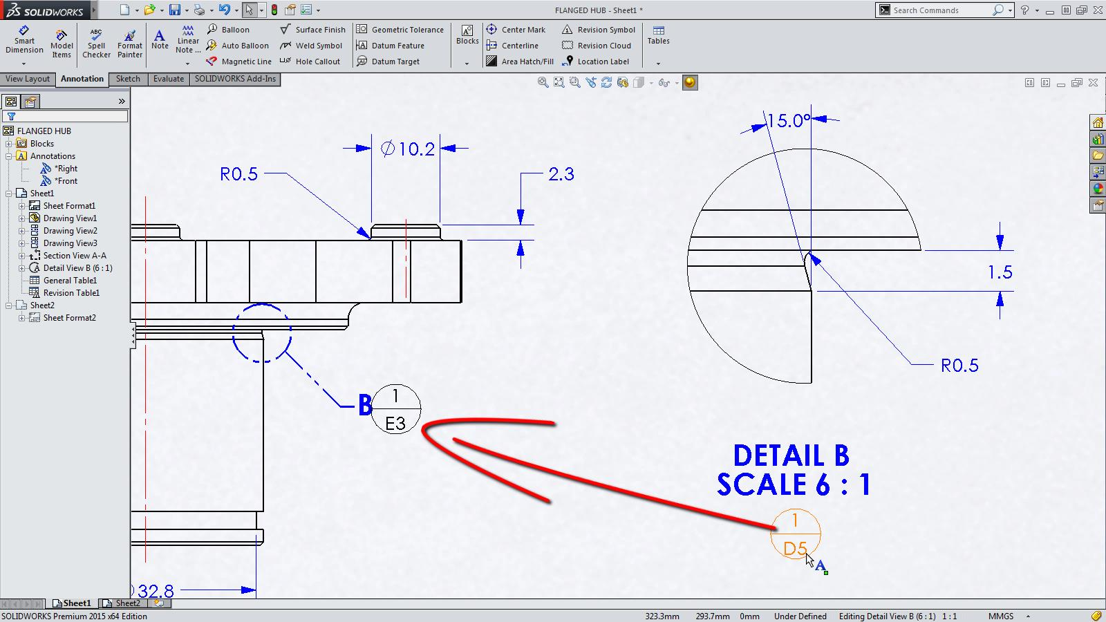 SOLIDWORKS 2015 Sneak Peek: Drawing Zones