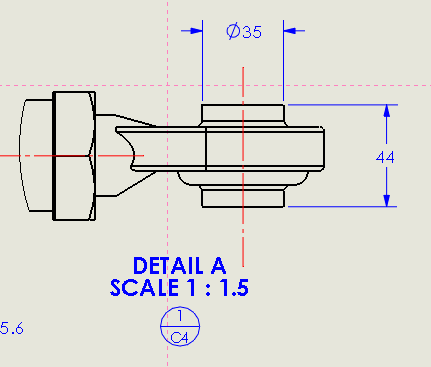 Drawing zone lines in SOLIDWORKS 2015