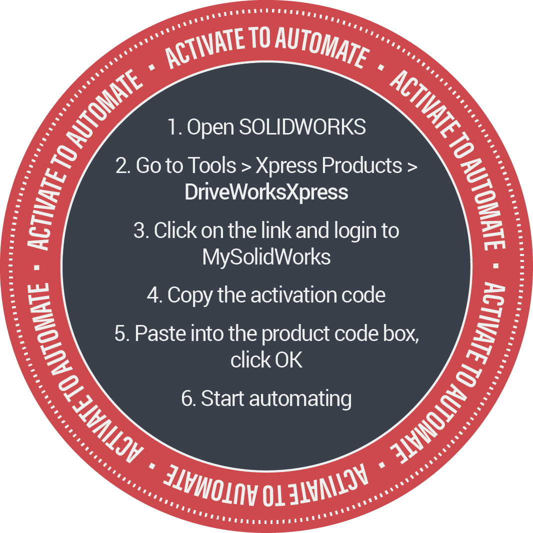 DriveWorks Activate to Automate -Back