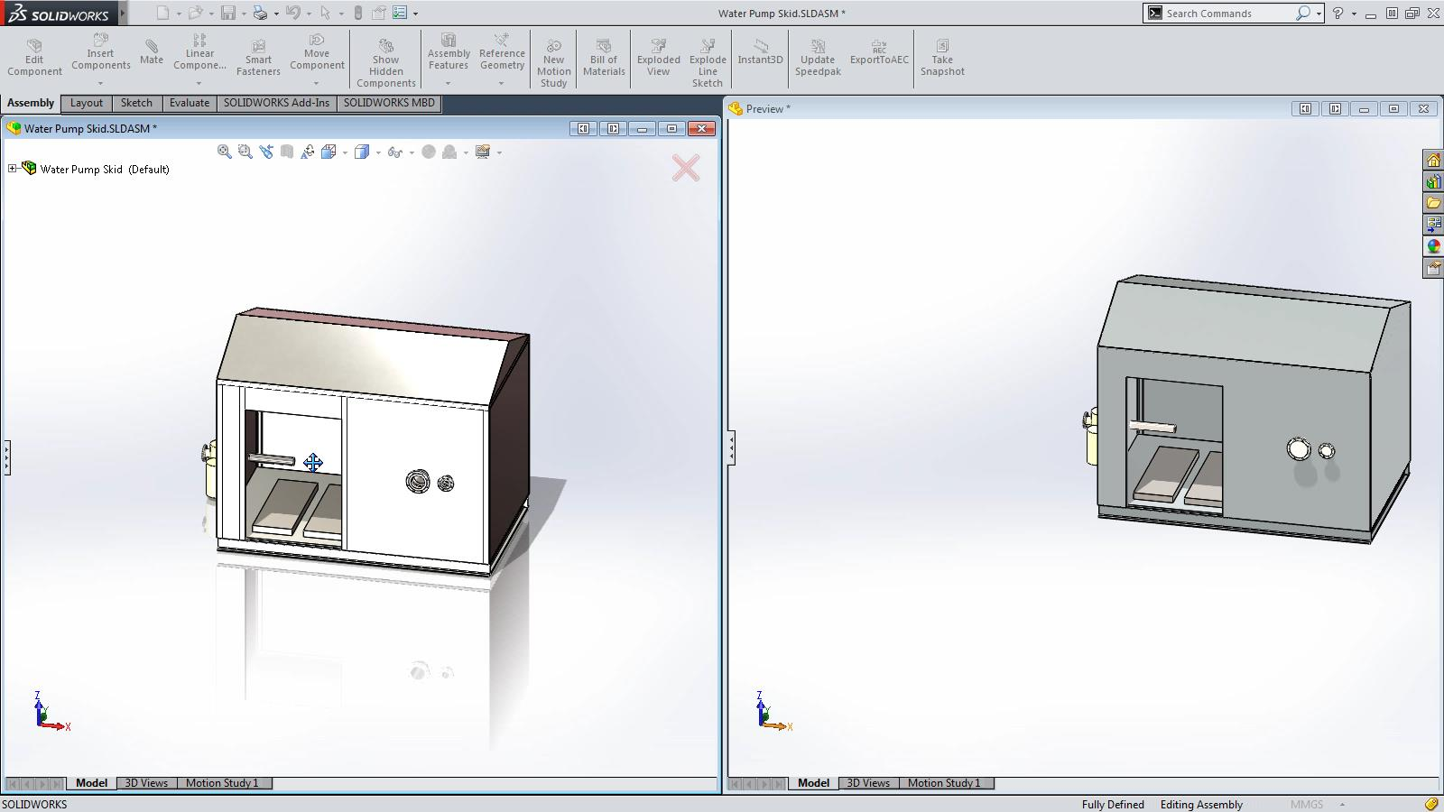 SOLIDWORKS 2015 Sneak Peek: Export to AEC