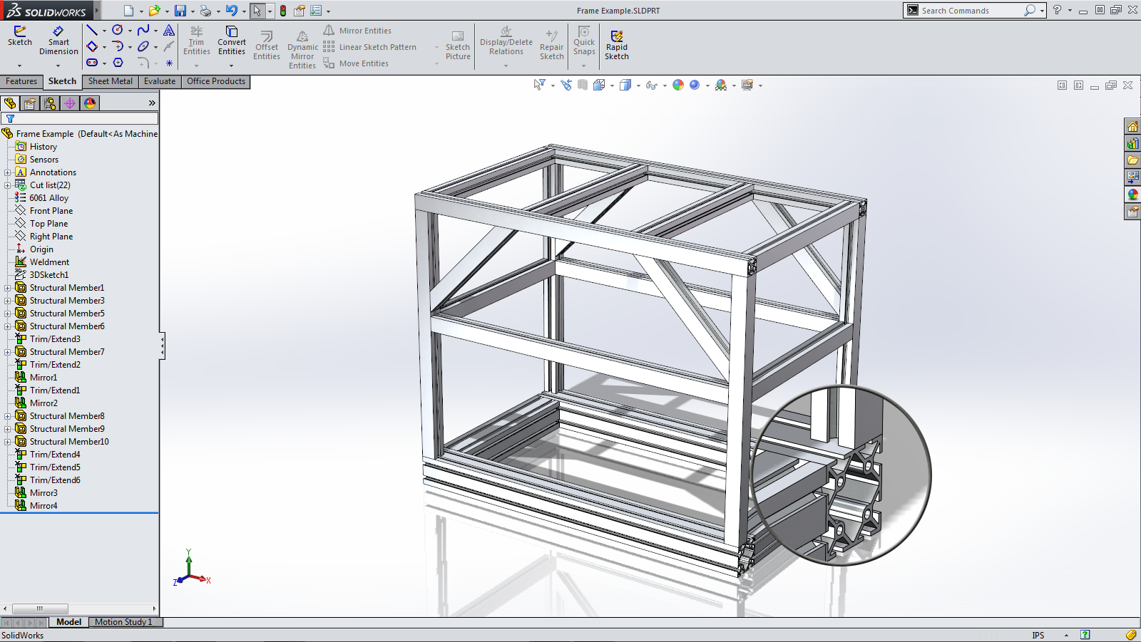 Throwback thursdays weldments for Design table not working solidworks