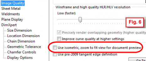 Use Isometric View