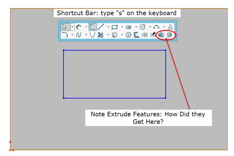 Shortcut Bar Customization Figure 1