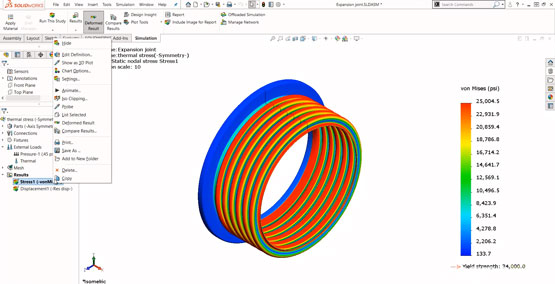 Getting Started with SOLIDWORKS Simulation – Fixtures and Loads