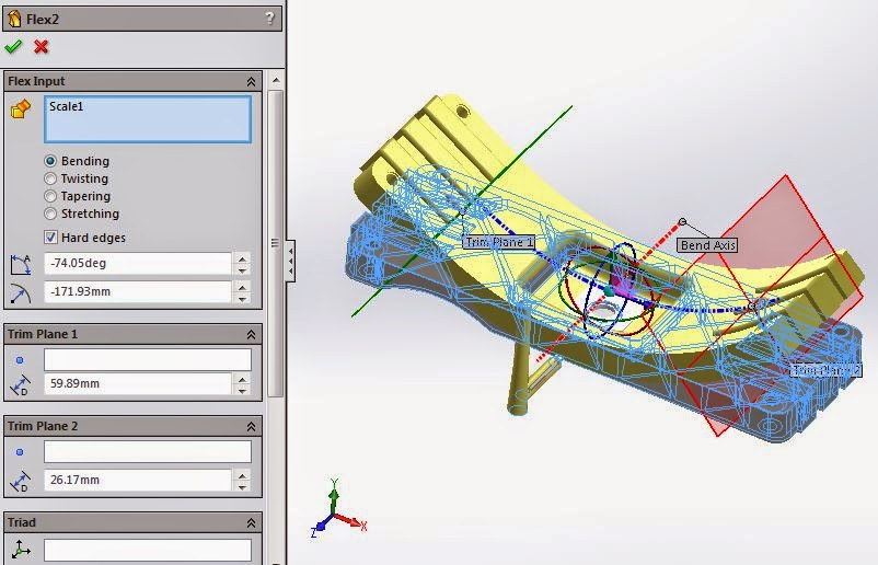SOLIDWORKS PLASTICS TECH TIP: Counter Deformed Geometry Export to Counteract Warpage
