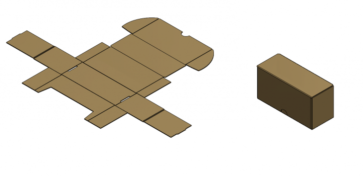 SOLIDWORKS Part Reviewer: Cardboard Box Tutorial