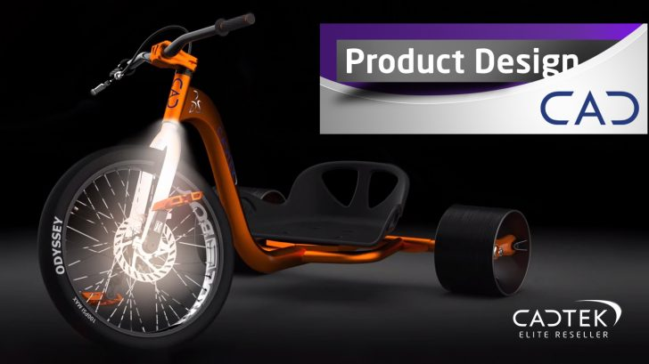 SOLIDWORKS Drift Trike – Fork Design